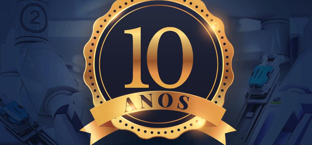 10 anos de Cirurgia Robótica no Brasil