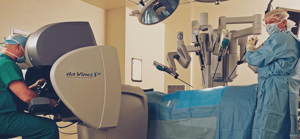 Evolução da cirurgia robótica no Brasil entre os anos de 2012 e 2016
