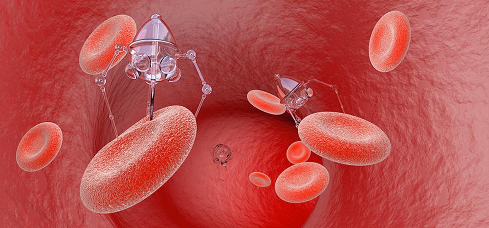 Cientistas estão usando nano robôs para combater o câncer